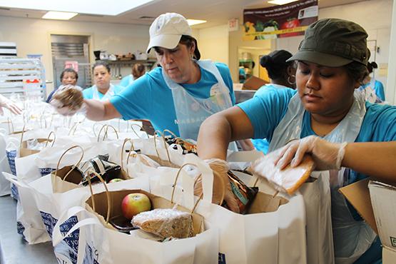Group Volunteering Servings